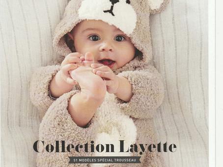 Catalogue 158 de Phildar, Layette hiver