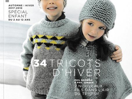 Catalogue 150 de Phildar, Enfants hiver