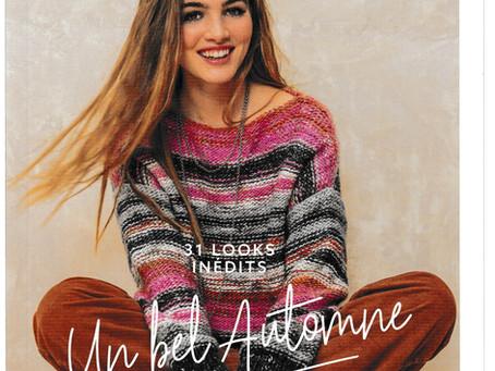 Catalogue 157 de Phildar, Femme hiver