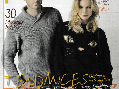 Catalogue 97 de Phildar, Famille hiver