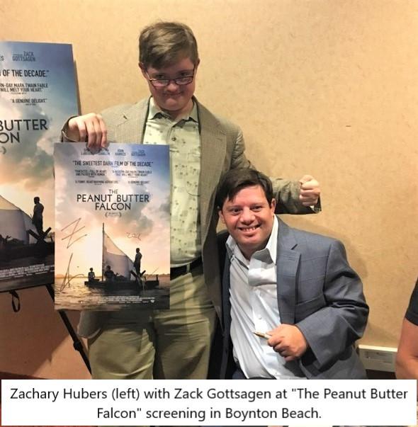 Zachary Hubers and Zack Gottsagen