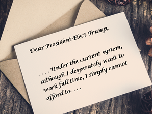 An Open Letter to the President-Elect: Please Don't Forget Persons with Disabilities