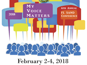 """""""My Voice Matters"""" is the Theme of 6th Annual FL SAND Conference"""
