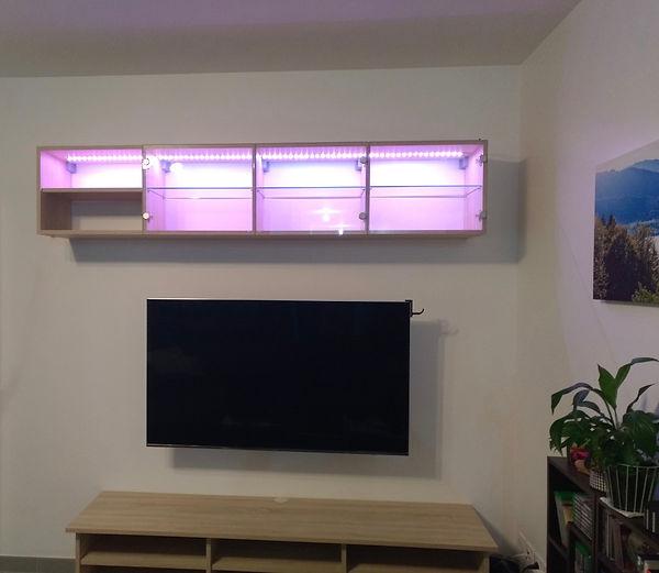 meuble tv vitrine