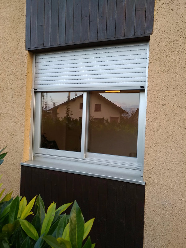 fenêtre coulissante alu couleur AS1