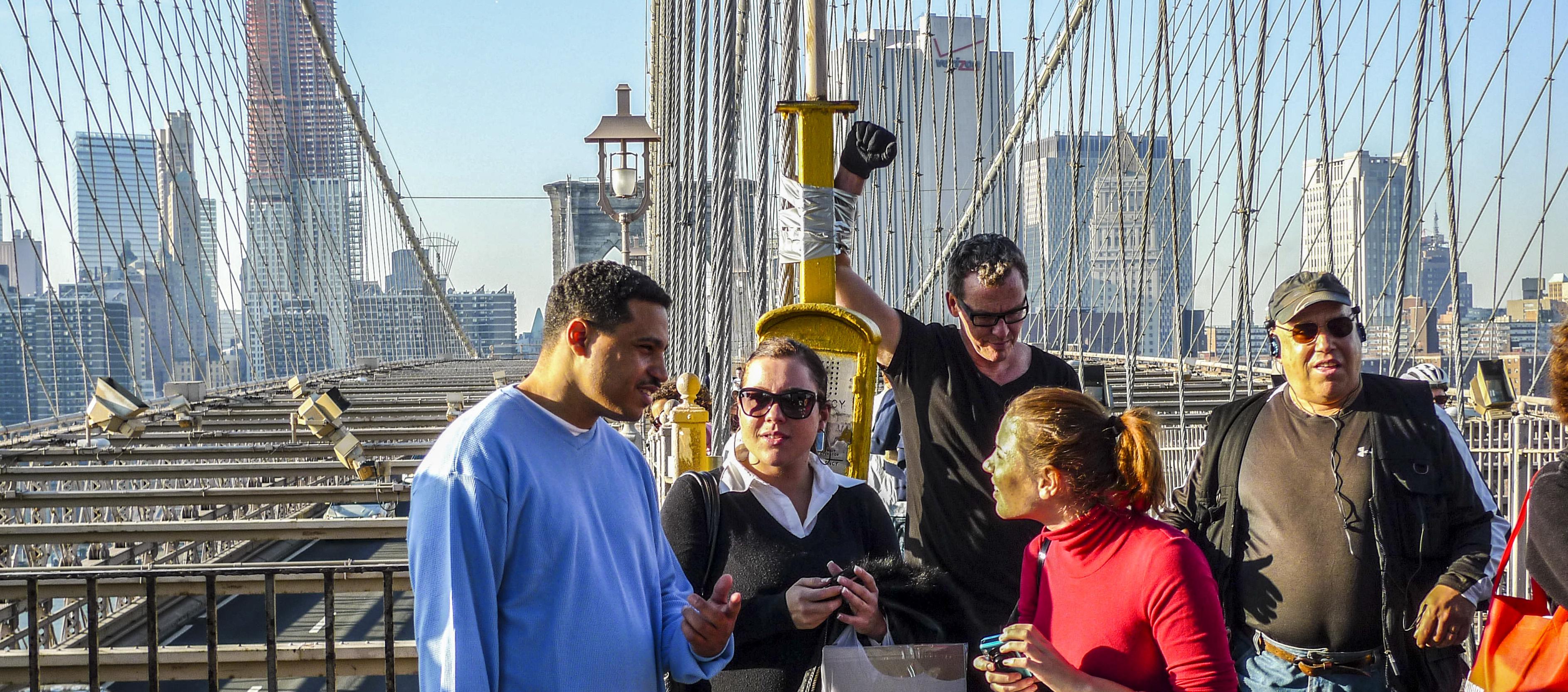 Emergency - Brooklyn Bridge NYC 2009