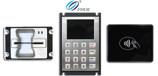 PAX readers, Unattended EMV Payment Solution, Innovative Control Systems (ICS)., icscarwashsystems.com
