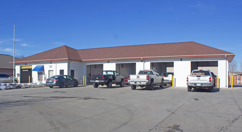 Self-Serve Wash Bays at Super Suds Car Wash in North Platte Nebraska