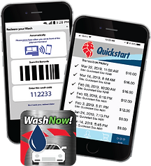 WashNow! Mobile App