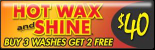 CARisma Wash, Hot Wax Shine, Wash Book $40