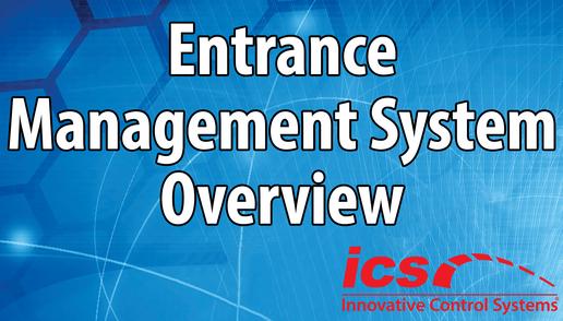 Entrance Management Display