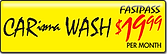 CARisma Wash, Wash Club Fast Pass, $19.99