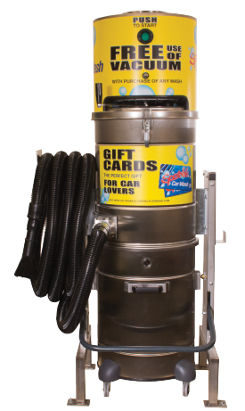 ExpressVacuum is a Car Wash Vacuum or central vacuum system by Innovative Control Systems (ICS)