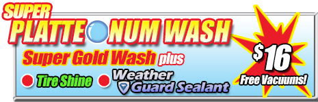 Super Suds Car Wash, Super Platteonum Wash