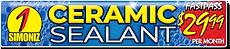 CARisma Wash, Wash Club Fast Pass, Ceramic Sealant $29.99