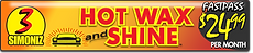 CARisma Wash, Wash Club Fast Pass, Hot Wax Shine $24.99