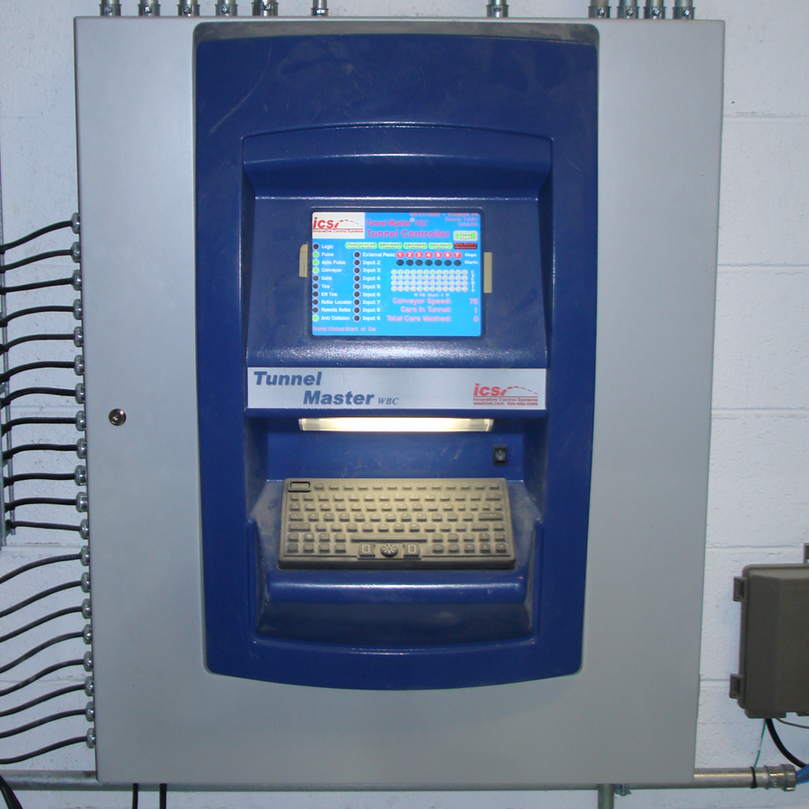 Tunnel Master wbc is a car wash tunnel controller by Innovative Control Systems (ICS)