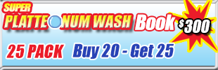 Super Suds Car Wash Bundle Washes
