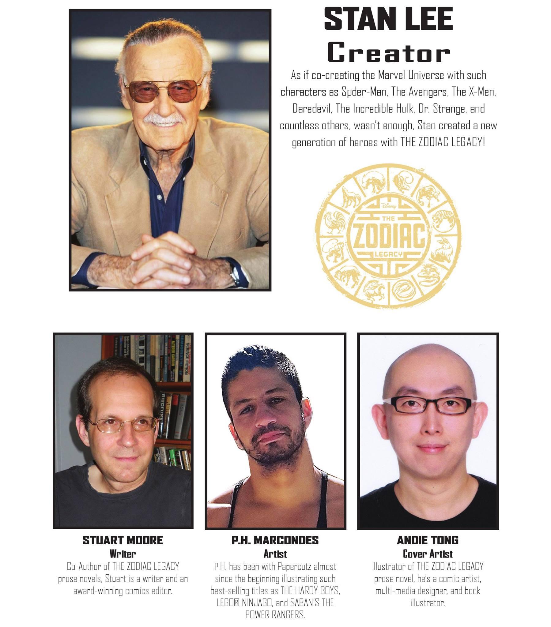 Zodiac Legacy - Stan Lee