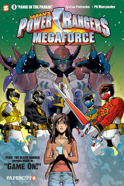 Power Rangers Mega Force Vol. 3