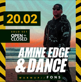Sunset c/ Amine Edge & Dance dia 20/02