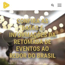 Confira as Datas e Informações da Retomada de Eventos ao Redor do Brasil