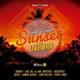 ☀️ Sunset Live Bar 3ª Edição | 26/09 | 14h - 22h