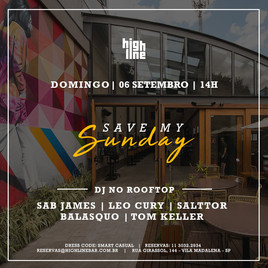 🏢 Highline Bar | 06/09 | Abertura as 14h