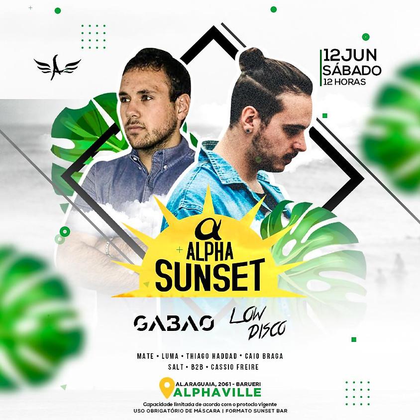 12/06 - Lista VIP Unissex - Alpha Sunset apres. Gabao e Low Disco