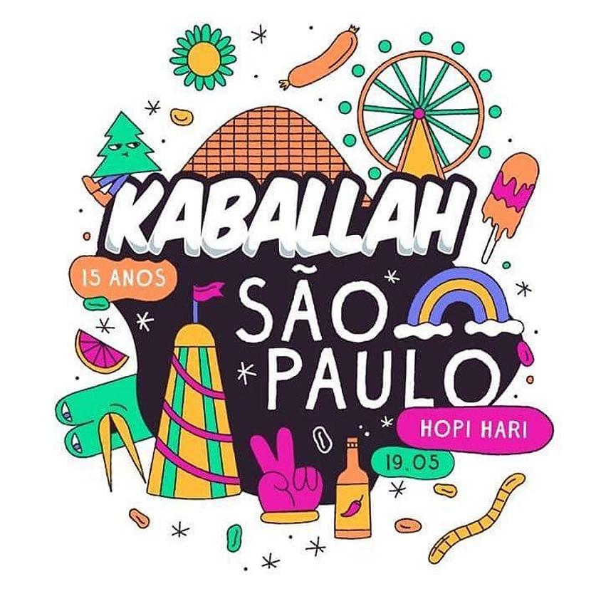 19/05 - Kaballah Festival - Hopi Hari