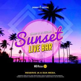 ☀️ Sunset Live Bar 5ª Edição | 31/10 | 15h