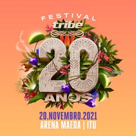 Comunicado de adiamento da Tribe 2021