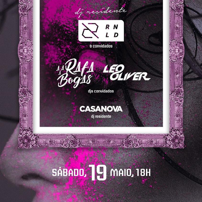 19/05 - Galleria Bar -  Rafa Bogas, Leo Oliver, dj Ronald e dj Casanova