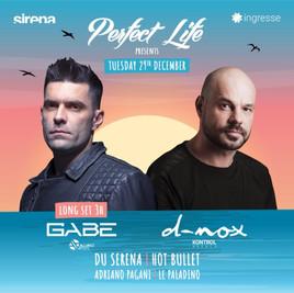 Perfect Life @ Sirena c/ Dnox e Gabe
