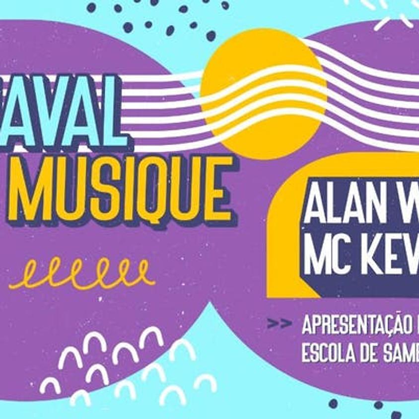 02/03 - Beach Club São Pedro: Carnaval c/ Alan Walker e M Kevin O Chris
