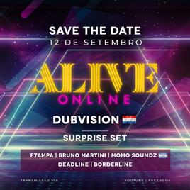 Alive BPM apresenta Alive Online DubDivision 12/09 às 17h