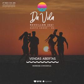 Réveillon da Vila Santo André - Bahia c/ Virada Open Bar Premium