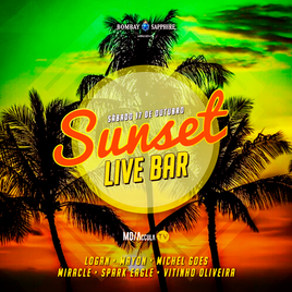 ☀️ Sunset Live Bar 4ª Edição | 17/10 | 15h - 22h