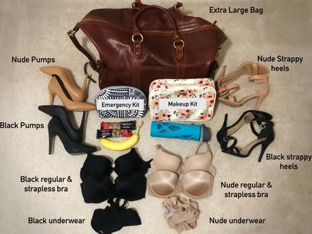Model Bag Essentials