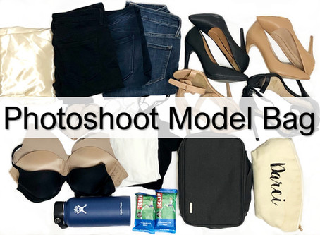 Photoshoot Model Bag