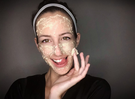 DIY Post-Sun Facemask