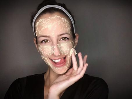DIY Post-Sun Facemask