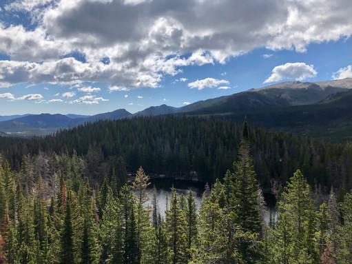 Nymph Lake below