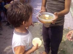 Fighting starvation among the poorest children in Venezuela.