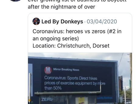 Sports Direct owner Mike Ashley apologises for keeping the stores open during the coronavirus pandem
