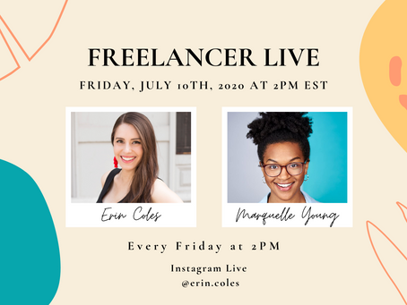Freelancer Live with Marquelle Young