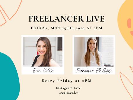 Freelancer Live with Francesca Phillips