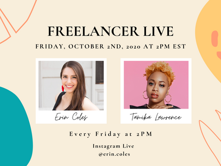 Freelancer Live with Tamika Lawrence