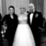 Bride and Groom with Erin Coles