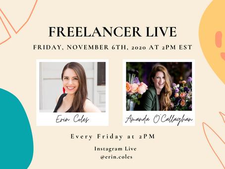 Freelancer Live with Amanda O'Callaghan